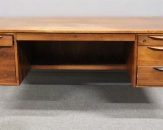 MIDCENTURY Jens Risom Desk And Cabinet