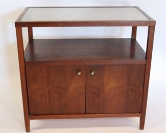 MIDCENTURY Small Cane Top Server Cabinet