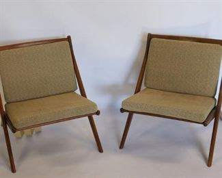 Signed DUX X Frame Chairs