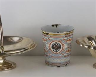 SILVER Assorted Grouping of Russian Objects