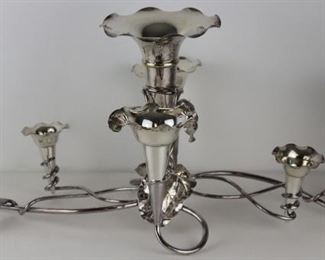 SILVERPLATE Mappin Webb SilverPlated Epergne