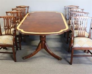 SMITH WATSON Signed Dining Table And Chairs