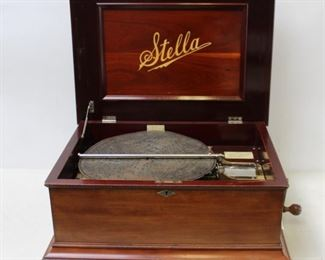 STELLA Brevette Music Box and Disc