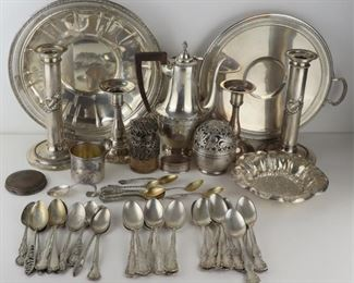 STERLING Assorted Sterling Hollow Ware Flatware