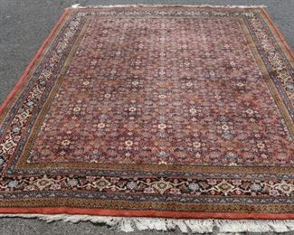 Vintage And Finely Hand Woven Carpet