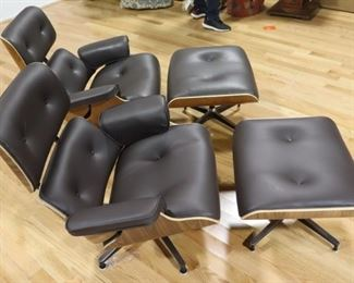 Vintage And Finest Quality Pair Of Eames Style