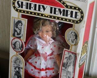Shirley Temple doll NIB