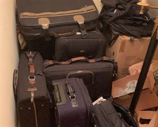 An enormous lot of luggage