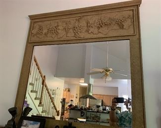 Over the mantle mirror -very large