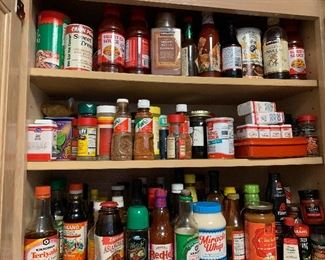 Tons of exotic spices
