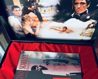 Large DVD collection -Scarface boxed set