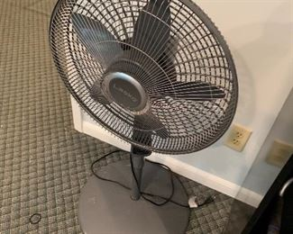 One of several fans, heaters, air purifiers
