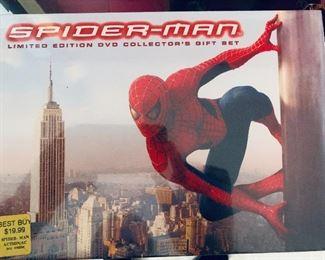Spiderman DVD boxed set