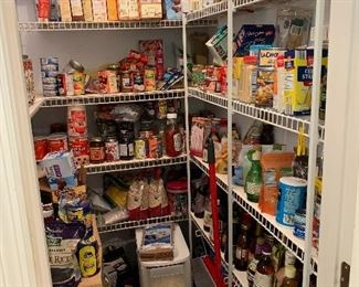 Well stocked pantry -all for sale!