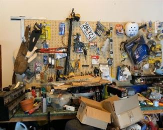 A view of the workbench