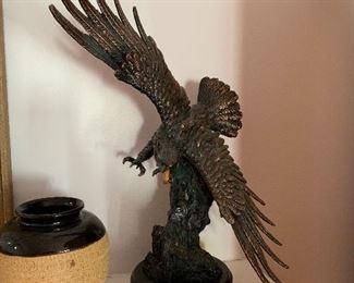 """Bronze"" eagle"