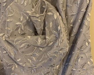 Detail of evening gown