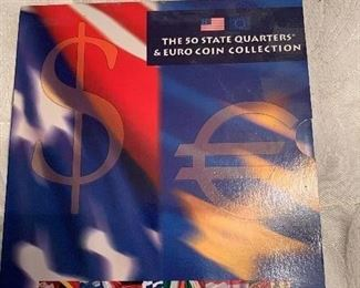 State Quarter and Euro album