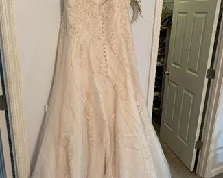 Wedding gown -plus size