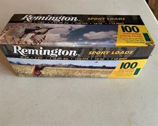 Remington shot gun shells