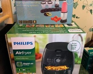 Air fryer and nutribullet parts