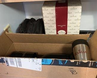 Gevalia coffee pots and coffee