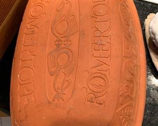 Romertopf ceramic baker