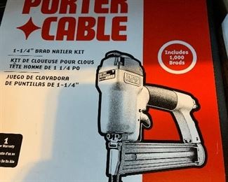 Porter Cable nail gun