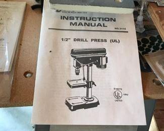 Drill Press Manual