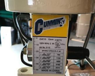 """Cummins 1/2"""" Drill Press"""