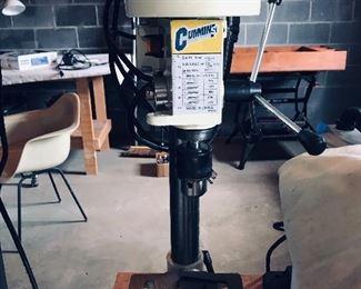 """Cummins 1/2"""" Drill Press w/Manual(no.3115),"""