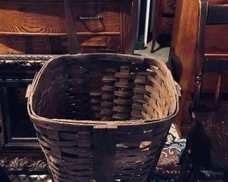 Large Basket on Wheels