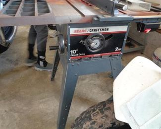 """Craftsman 10"""" Direct Drive Table Saw,"""