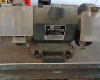 Craftsman 1/4hp Bench Grinder w/attached Table,