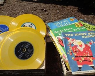 Golden Records & Christmas 45's