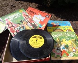 Old Children's 45 Records