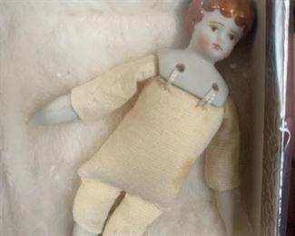 Miniature china doll