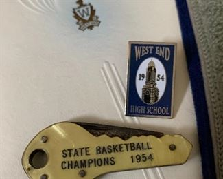 1954 West End High School State Basketball Champions