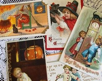 Halloween postcards -about 25