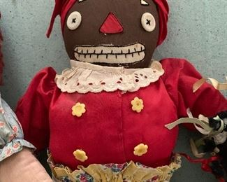 Handmade Mammy doll, 1930s-40s, Tennessee of Alabama