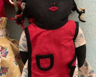 Handmade doll, from Tennessee or Alabama, 1930s-1940s
