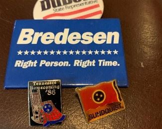 Vintage Tennessee political