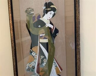 Large Asian painting