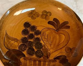 Los Angeles Pottery bowl -large