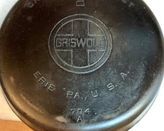 Griswold 8 cast iron