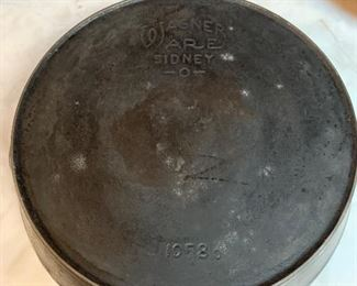 Wagner Ware cast iron