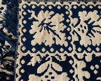 Detail of coverlet