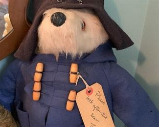Hand made? Paddington bear in mohair and wool