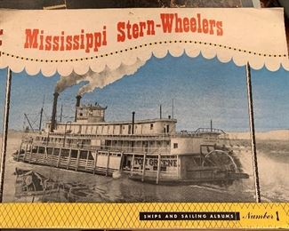 Mississippi Stern-Wheelers book, unique