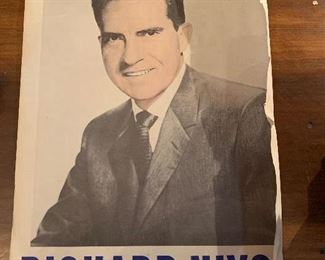 Original Nixon and Henry Cabot Lodge posters